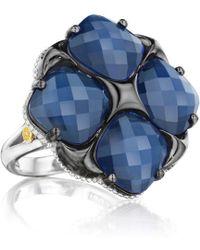 Tacori - City Light 18k & Silver 15.40 Ct. Tw. Quartz Doublet Ring - Lyst