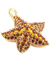 Pomellato - Sirene 18k Rose Gold Citrine & Quartz Starfish Pendant - Lyst