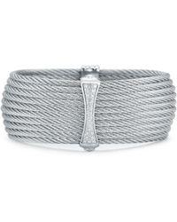 Alor - Classique 18k 0.19 Ct. Tw. Diamond Bangle - Lyst