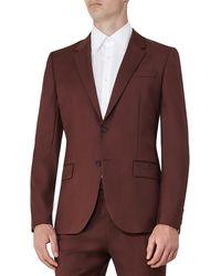 Reiss - Houston B Slim Fit Wool Jacket - Lyst