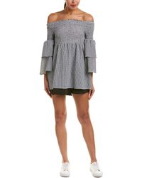 Lost In Lunar - Off-the-shoulder A-line Dress - Lyst