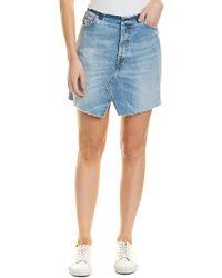 b9950652fb IRO Chicago Denim Skirt in Blue - Lyst