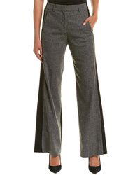 French Connection - Antonia Tweed Wool-blend Pant - Lyst