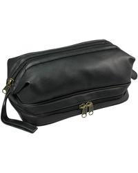 Dopp - Buxton Jumbo Framed Leatherette Travel Kit With Bonus Items - Lyst