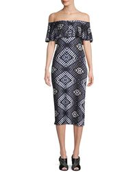 Rachel Pally - Geometric Print Sheath Dress - Lyst