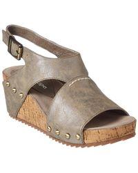 Antelope - 585 Leather Wedge Sandal - Lyst
