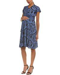 Everly Grey - Maternity Kathy Wrap Dress - Lyst