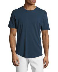 JEFF - Raleigh Cotton Crewneck T-shirt - Lyst