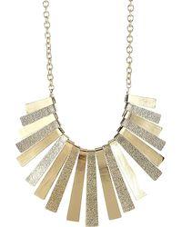 Sparkling Sage - 14k Plated Necklace - Lyst