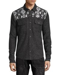 PRPS - Goods & Co. Spread Collar Sportshirt - Lyst