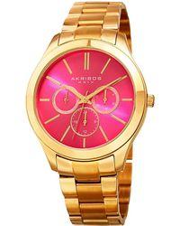 Akris - Akribos Xxvi Women's Casual Watch - Lyst