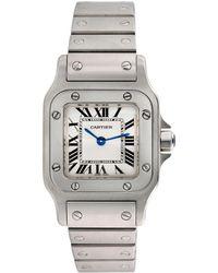 Cartier - Cartier 1990s Santos Galbee Watch - Lyst