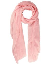 Saachi - Delicate Solid Cashmere Scarf - Lyst