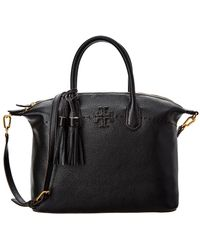 Tory Burch - Mcgraw Slouchy Leather Satchel - Lyst