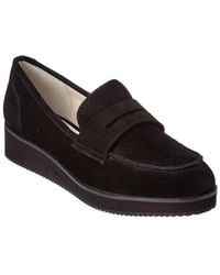 Bettye By Bettye Muller - Move Suede Loafer - Lyst