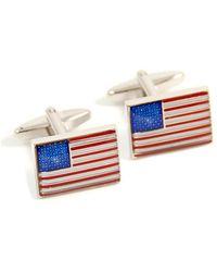 Bey-berk - Patriotic Flag Cufflinks - Lyst