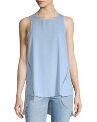 Vince Camuto - High-low Blouse - Lyst