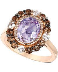 Le Vian - ? 14k Rose Gold 3.23 Ct. Tw. Gemstone Ring - Lyst