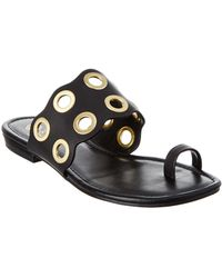 Isola - Milo Leather Sandal - Lyst