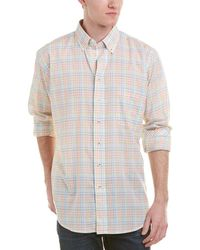 Mine - Apparel Inc Piped Classic Woven Shirt - Lyst