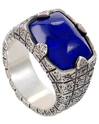 Stephen Webster - Silver Lapis Lazuli Ring - Lyst