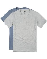 Naked - Pack Of 2 V-neck Shirts - Lyst