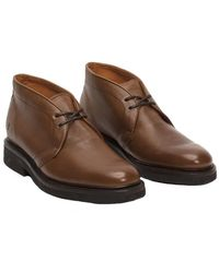 Frye - Men's Country Leather Chukka Boot - Lyst