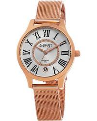 August Steiner - Women's Stainless Steel Watch - Lyst