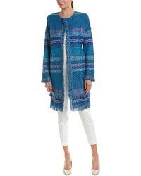St. John - Wool-blend Topper - Lyst