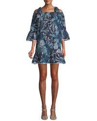 Paul & Joe - Jangala Cold-shoulder Mini Dress - Lyst