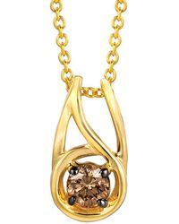 Le Vian - ® Chocolatier® 14k 0.23 Ct. Tw. Diamond Necklace - Lyst