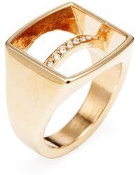 Vita Fede - Valentina Crystal Ring - Lyst