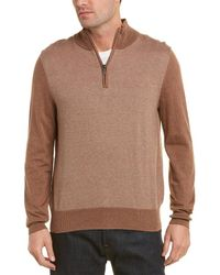 Brooks Brothers - Cashmere-blend 1/2 Zip Sweater - Lyst