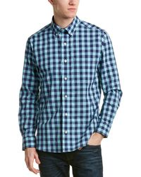 Bills Khakis - Standard Issue Slim Fit Woven Shirt - Lyst