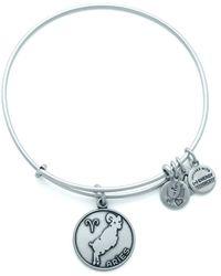 ALEX AND ANI - Zodiacs Aries Ii Expandable Bracelet - Lyst