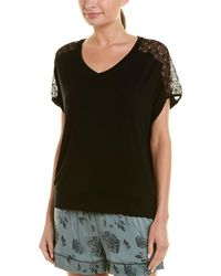 e6a1923634b Old Navy Plus-size Split-neck Cocoon Top - Lyst