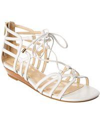 Isola - Elisia Leather Sandal - Lyst