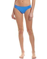La Blanca - Island Shirred Bikini Bottom - Lyst
