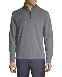 Brooks Brothers - Quilted Yoke Sweater - Lyst