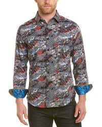 Robert Graham - Brynwood Classic Fit Woven Shirt - Lyst