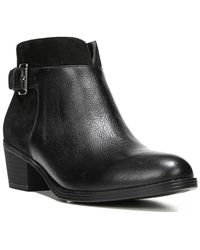Naturalizer - Wanya Leather Bootie - Lyst
