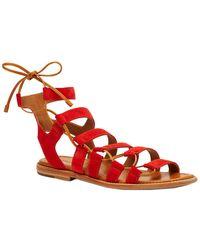 Frye - Blair Side Ghillie Sandals - Lyst