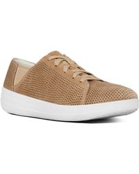 Fitflop - F-sporty Suede Trainer - Lyst