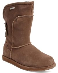 EMU - Charlotte 14 Button Sheepskin Boot - Lyst