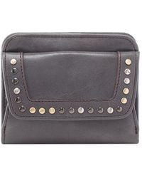 Hobo Pep Leather Wallet - Gray