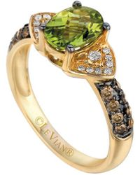 Le Vian - Chocolatier Peridot (1 Ct. T.w.) And Diamond (1/4 Ct. T.w.) Ring In 14k Gold - Lyst