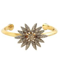 House of Harlow 1960 - 1960 14k Plated Crystal Cuff - Lyst