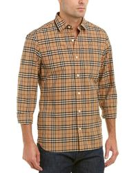 Burberry - Alexander Checked Shirt - Lyst