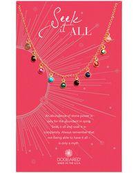 Dogeared - Seek It All 14k Over Silver Necklace - Lyst