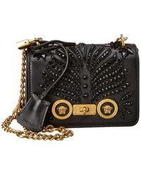 13a4b286 Lyst - Versace Shoulder Bag For Women On Sale in Black
